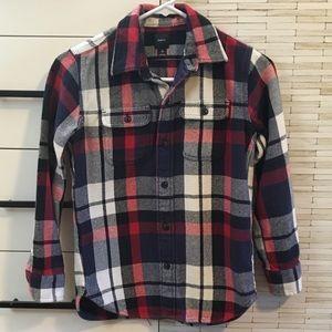 GAP Boys Flannel Button Up